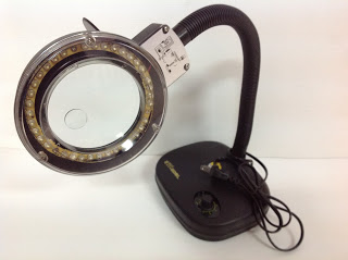 S13B-BEST TABLE MAGNIFIER LED LAMP 5X