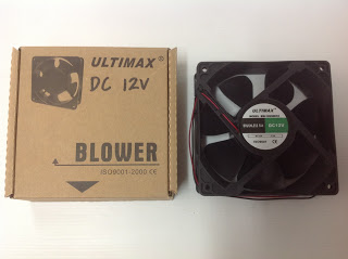Q9-ULTIMAX AMP COOLING FAN 4 นิ้ว DC12V