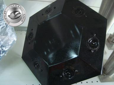 D5A - BLACK HEX with MAGNETIC WATER PROOF TWEETER