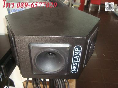D12 HEXA NEST AMP with NEST AMP NX10 TWEETER