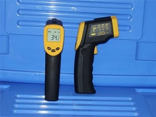 E24 - LASER INFRARED THERMOMETER GUN