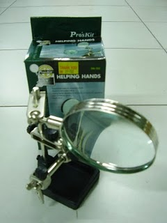 S12 - PRO'SKIT MAGNIFYING GLASS HELPING HAND