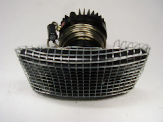F43A-HORN TWEETER HP5000 WITH NETTING AND CAPACITOR