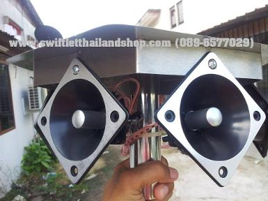 H12B-HEXAGONAL CALLER WITH ARROW 3x 3 TWEETER