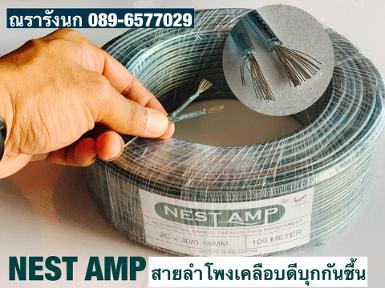W5-NEST AMP SPEAKER WIRE 30 BLUE